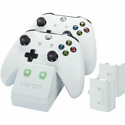 Twin Docking Station For Xbox One White
