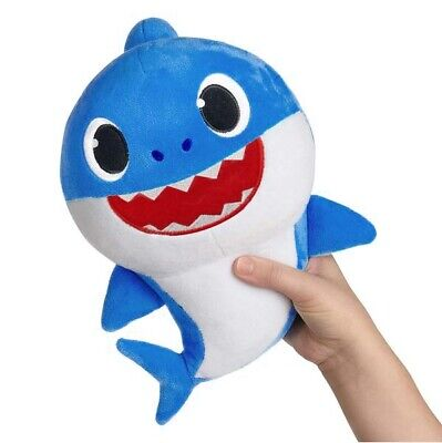 2019 Baby Shark Plush Singing Toys Music Doll English Song Gifts Free Shipping