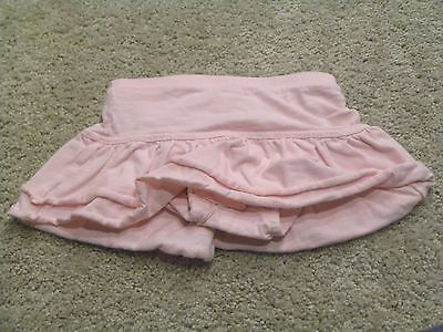 Old Navy Toddler Girls Pink Tiered Ruffled Skort Size 12 18 months