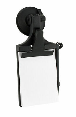 Brookstone Car Windscreen Clipboard with Suction Cup - Adjustable Position