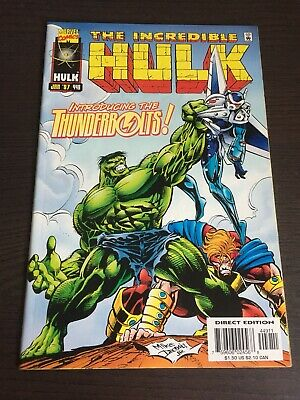 INCREDIBLE HULK #449 1st THUNDERBOLTS APPEARANCE FIRST PRINT MARVEL COMICS