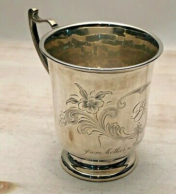 Mappin & Webb Sterling Silver Baby Cup, London England