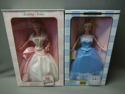 Barbie Birthday Wishes Lot Of 2 Sealed 1998 2000 Collector Edition