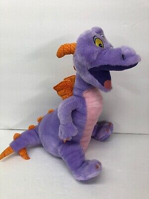 Disney Parks Figment 15 inch Epcot Dragon Purple Plush Animal Disneyland Walt