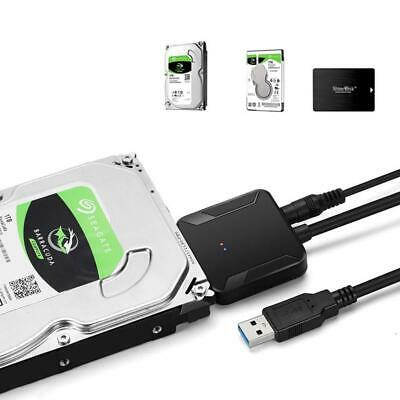 Super Speepd USB 3.0 to SATA 2.5 3.5 Hard Drive HD SSD Converter Adapter Hubs