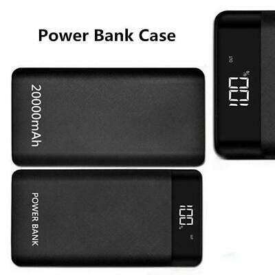 Power Bank Case Dual 2 USB Port Battery Charger Box 8*18650 with LED Display DIY
