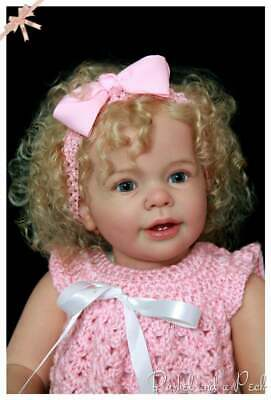 Custom Order for Reborn Toddler Baby Katie Marie Girl Doll
