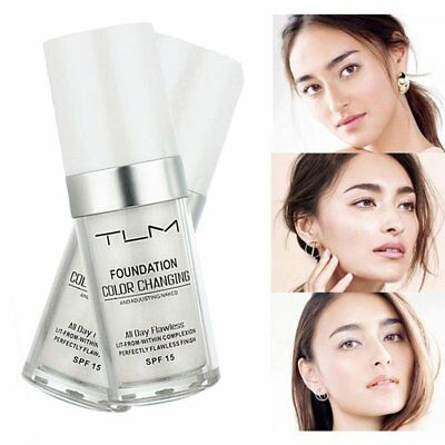 Magic Flawless Color Changing Foundation TLM Makeup Change To Your Skin Tone 0M
