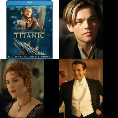 Titanic Blu Ray DVD and Digital Copy Included Box Set Format DTS Surround Sound