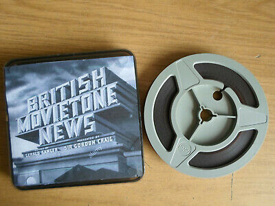 Super 8mm sound 1X200 BRITISH MOVIETONE NEWS Final edition.