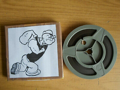 Super 8mm sound 1X200 THE ROYAL FOUR FLUSHER. Popeye cartoon.