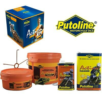 Putoline Action Kit Foam Air Filter Cleaner Motocross Mx Bike Maintenance