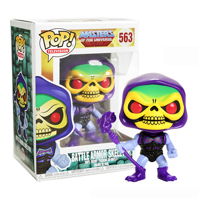 New Masters Of The Universe Battle Armor Skeletor Pop Vinyl Figure #563 Official