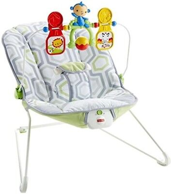 Baby Bouncer Seat Newborn Infant Bounce Chair Travel Vibrations Bouncy Toy Bar