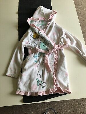 tinkerbell Size 5/6 Dressing Gown From The Disney Store