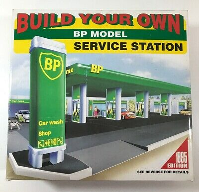 Build Your Own BP Model Service Station – 1995 Edition - Sealed