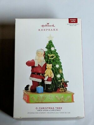 Hallmark Keepsake 2019 Once Upon A Christmas O Christmas Tree Musical Ornament