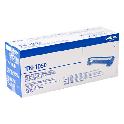 Brother TN1050 TN-1050 1000 pages Black 1 pc(s) Toner Cartridge
