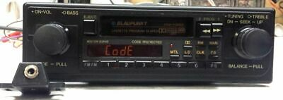 Vintage Blaupunkt Boston SQR-49 Dual Shaft Style Cassette with Auxiliary Jack