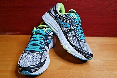 f4a54469fd SAUCONY WOMEN'S SIZE 5 Wide Guide 9 Running Shoes S10296-1 Gray ...