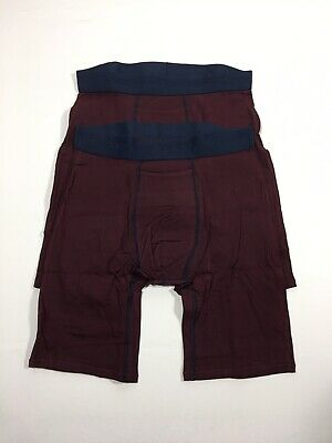 NWT Tommy John Cotton Basics Boxer Briefs Size Small - 2 Pack