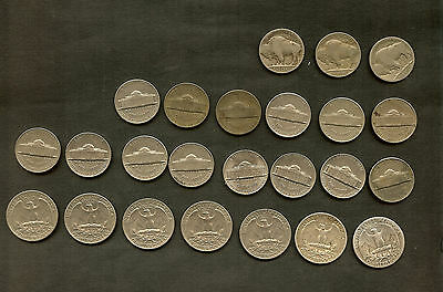 SELECTION of 64 USA COINS ,MANY SILVER AND GOOD CONDITION.