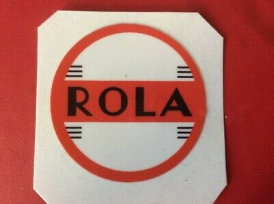 ROLA,,sticker decal  ASTOR STC ETC