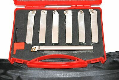 Set of 16 mm Glanze  Indexable Lathe Turning Tools with Larger CCMT09 Insert