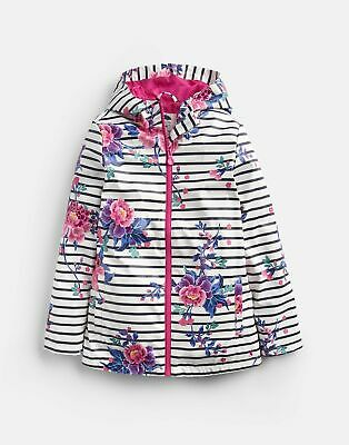 Joules 207076 Printed Coat in CHINOISE STRIPE