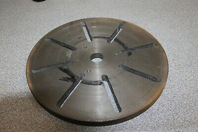 """11.75"""" faceplate for lathe or similar"""