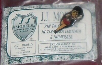 1 Gadget Manga Spilla Vintage Limited Metal Pin Anime Sailor Moon Jj Models-Mars