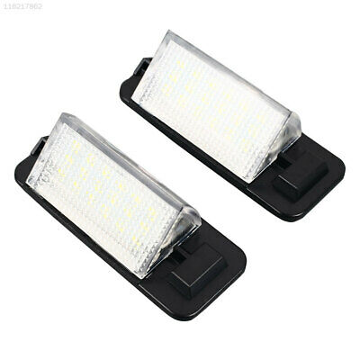 Vehicle Parts & Accessories 7637 Number Plate Light 2PCS 6500K LED Lamp for Benz W203(4D)Sedan