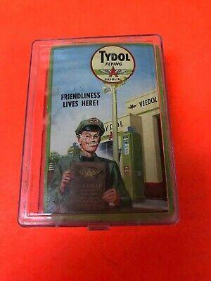 Vintage Original 1950'S Tydol Flying A Playing Cards Full Deck