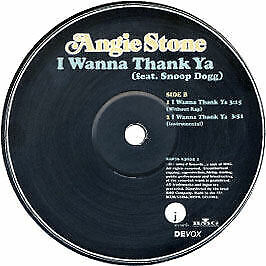 Angie Stone Feat. Snoop Dogg - I Wanna Thank Ya - J Records - 2004 #133786