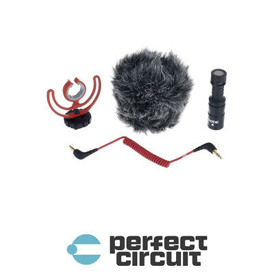 Rode VideoMicro On-Camera Microphone PRO AUDIO - NEW - PERFECT CIRCUIT