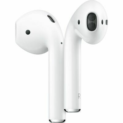 Apple AirPods with Charging Case (2nd Gen) Wireless In-Ear Headphones White