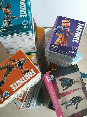 PANINI FORTNITE 50 to 200 card bundles inc EPIC and full sets All Different