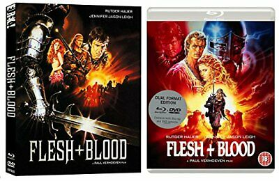 Flesh and Blood  NEW DVD and Blu-ray