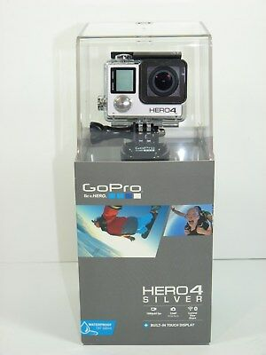 GoPro Hero4 Silver Edition Sports Action Camera Camcorder CHDHY-401-CA  -NEW-