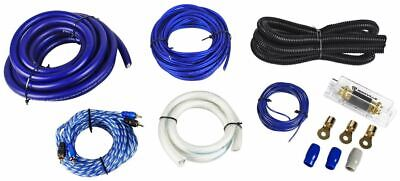 Rockville RWK01 0 Gauge Complete Car Amp Wiring Installation Wire Kit w/ RCA's