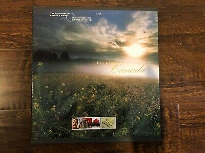Canada Post Stamp Collection Souvenir Album Book 1998 With All Stamps Included