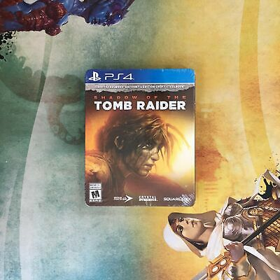 Shadow of the Tomb Raider - Croft SteelBook Edition • Sony PlayStation 4 PS4