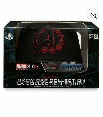 Disney Marvel Avengers Endgame Crew Cap Collection Limited Edition New Box
