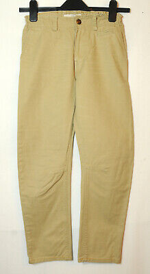 Beige Light Brown Boys Casual Jeans 9-10 Years 140Cm 100% Cotton H&M L.o.g.g.