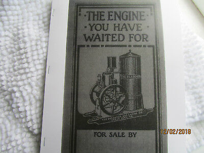 Bessemer Gas Engine 2-12HP Gas Kero Vertical Catalog