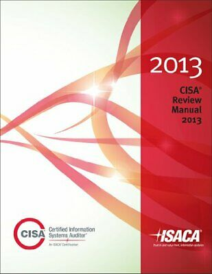 CISA Review Manual 2013 Book The Cheap Fast Free Post