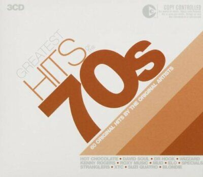 Greatest Hits of the 70's [3CD Box set] -  CD J6VG The Cheap Fast Free Post The