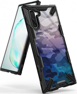 For Samsung Galaxy Note 10 Case, Ringke NEW [Fusion-X] Clear Bumper Protection