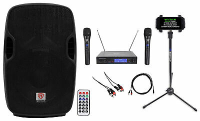 "Rockville 10"" Pro Karaoke Machine/System 4 ipad/iphone/Android/Laptop/TV/Tablet"