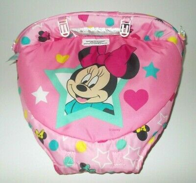 Disney Baby Minnie Mouse Stars and Smiles Walker by Bright Starts - Seat Cover